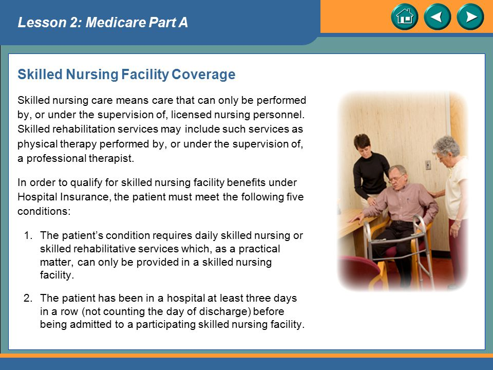 Skilled Nursing Facility Coverage