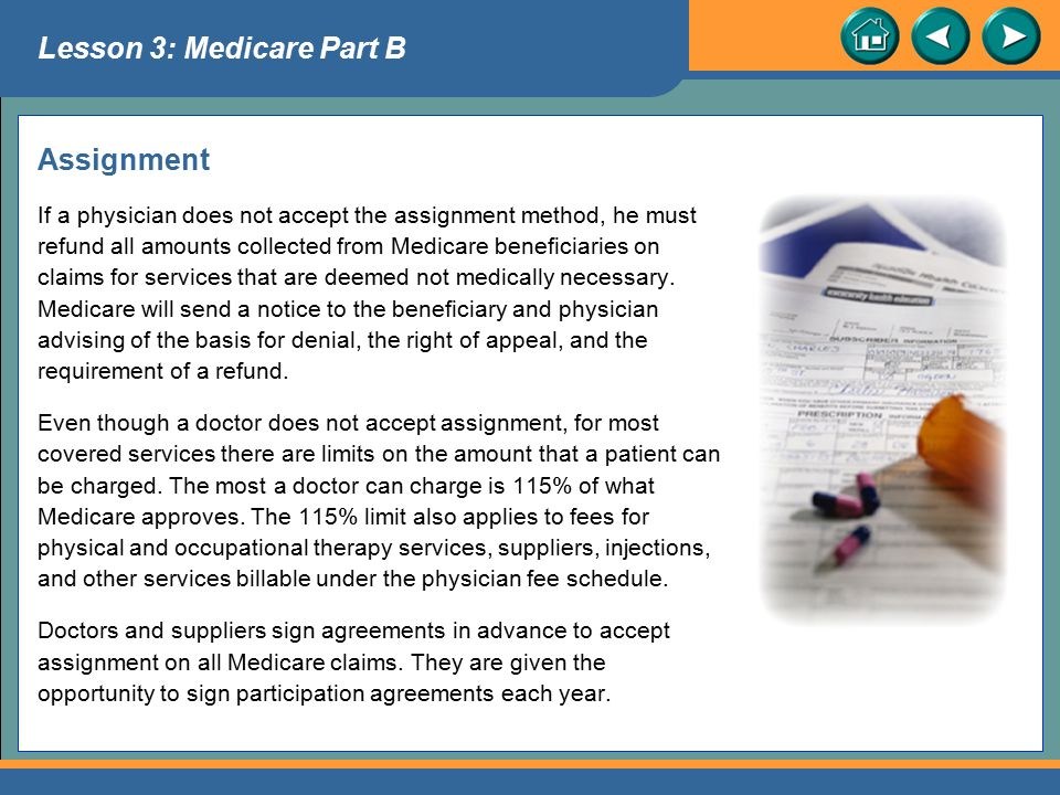 Lesson 3: Medicare Part B