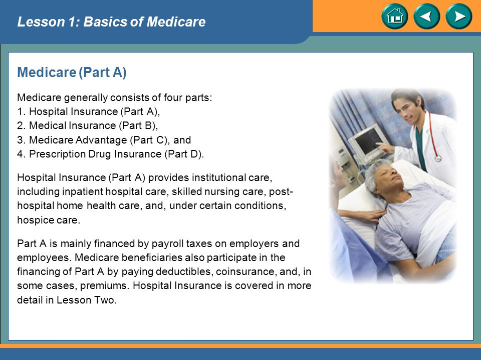 Lesson 1: Basics of Medicare