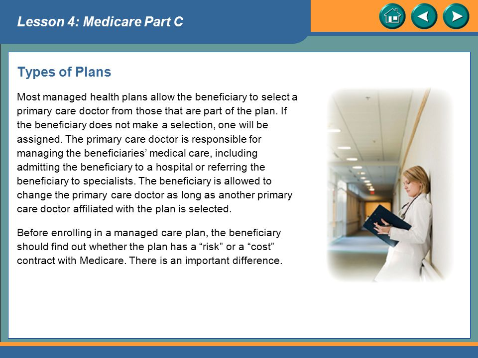 Lesson 4: Medicare Part C