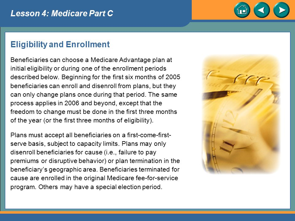 Eligibility and Enrollment