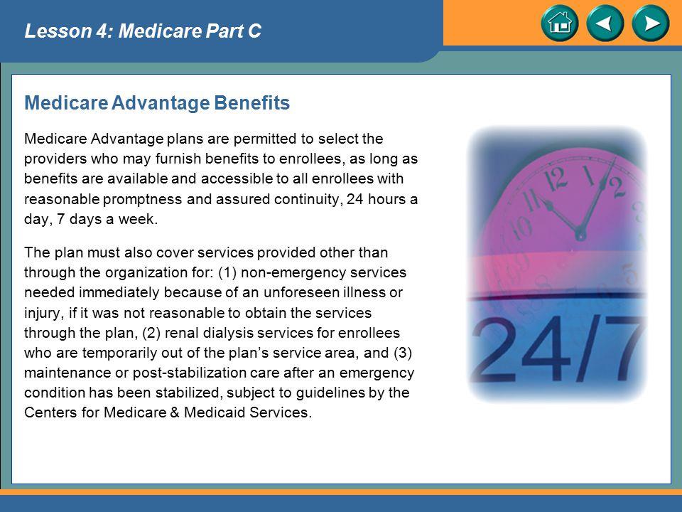 Medicare Advantage Benefits