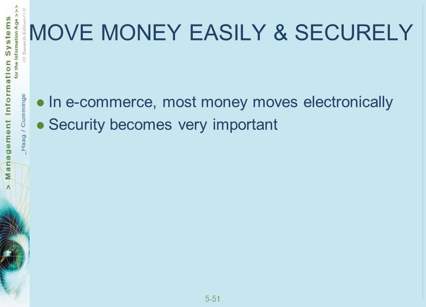 MOVE MONEY EASILY & SECURELY
