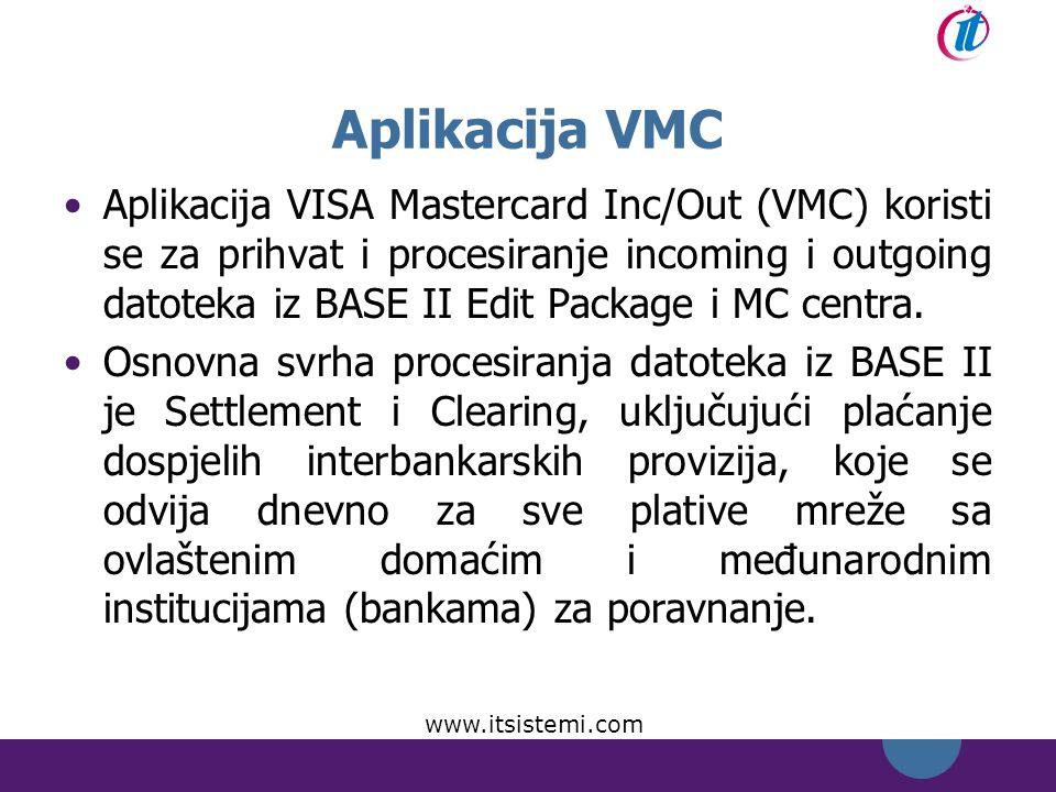 Aplikacija VMC