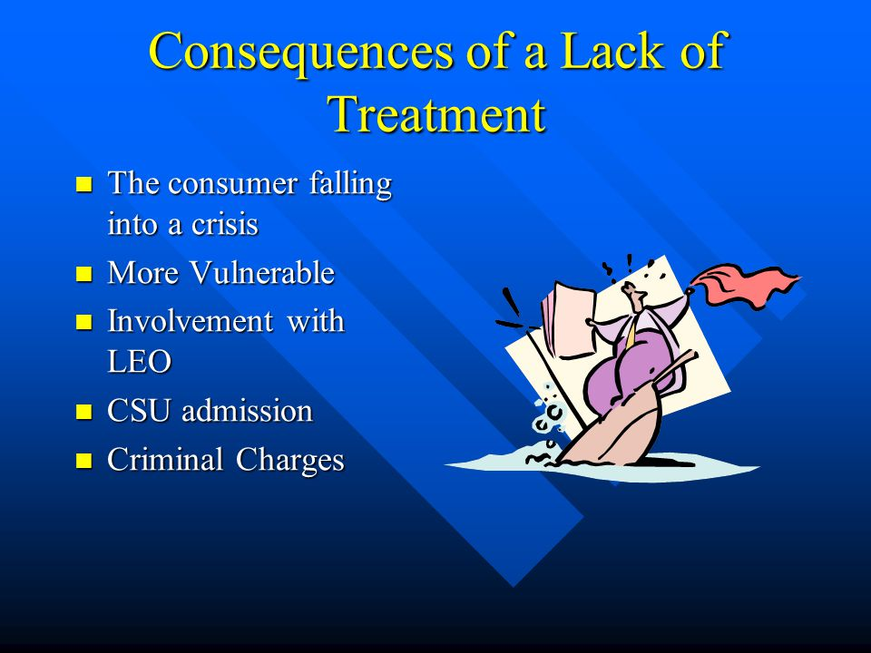 Consequences of a Lack of Treatment