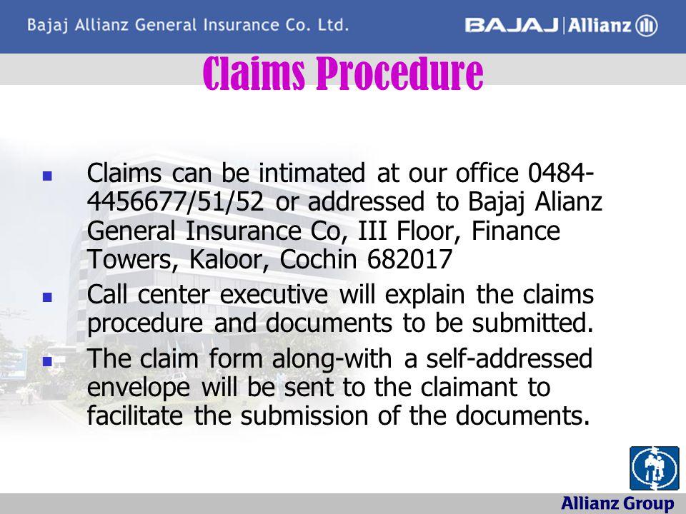 Claims Procedure