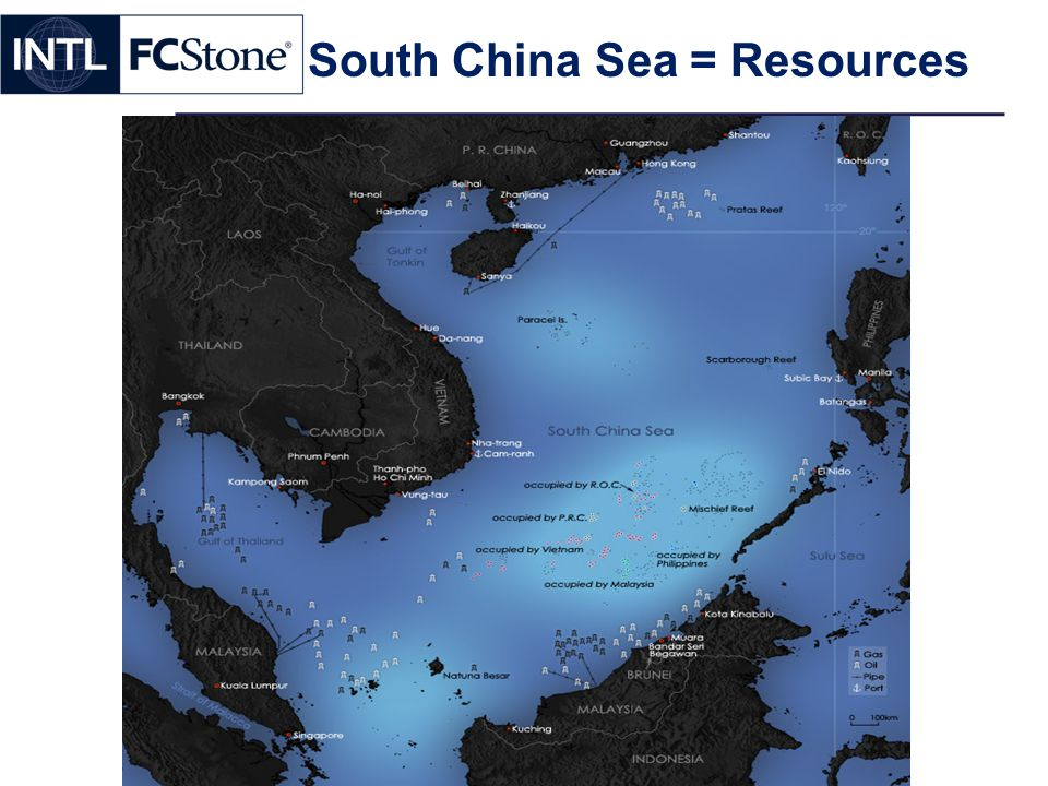 South China Sea = Resources