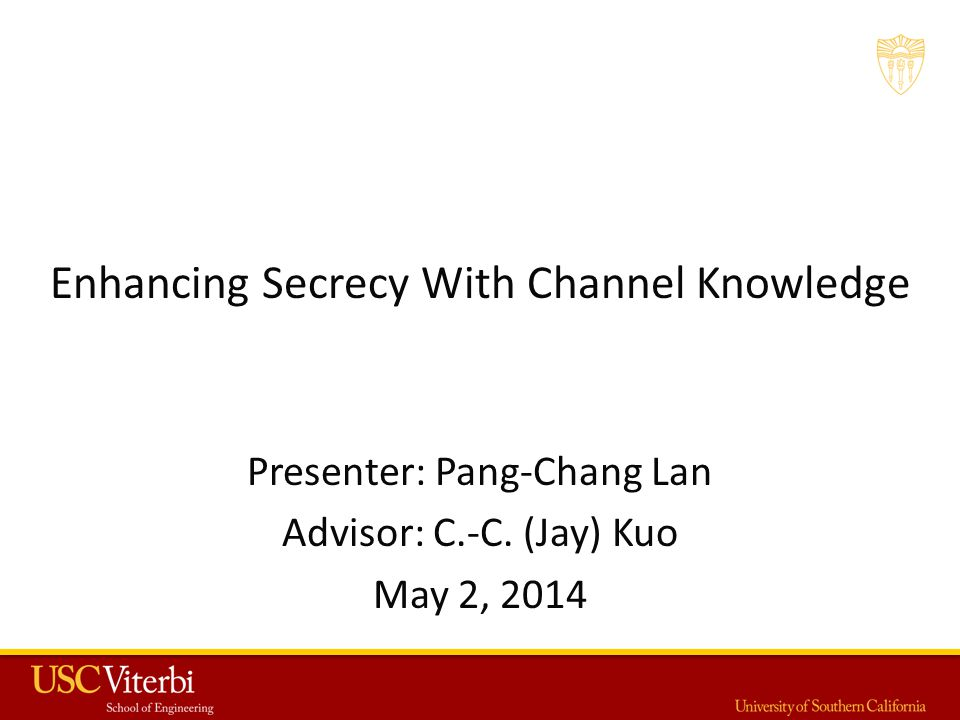 Enhancing Secrecy With Channel Knowledge