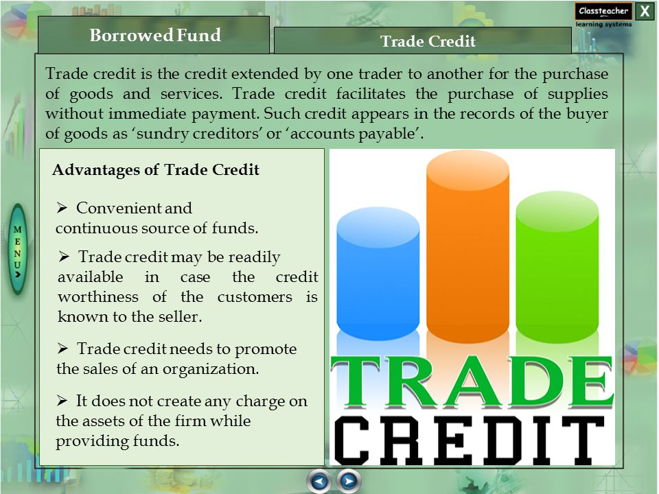 Borrowed Fund Trade Credit