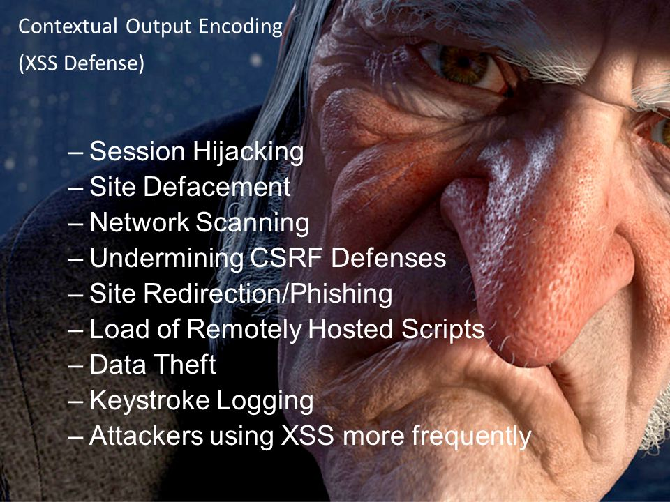 Contextual Output Encoding (XSS Defense)