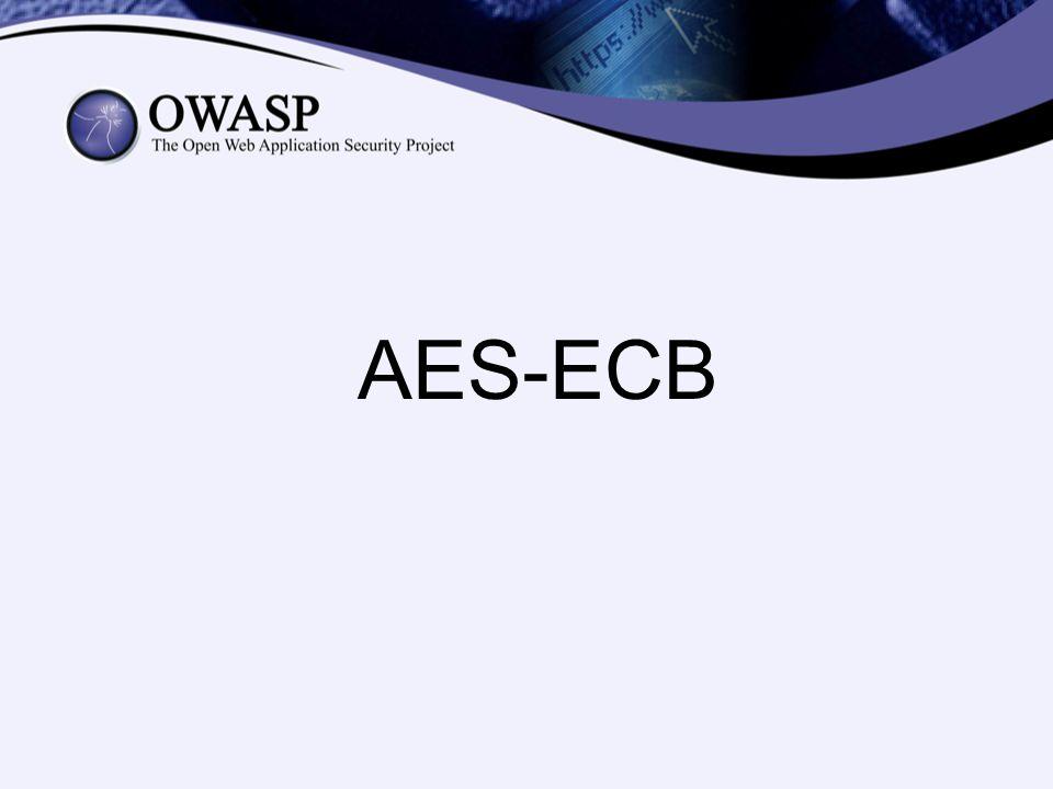 AES-ECB