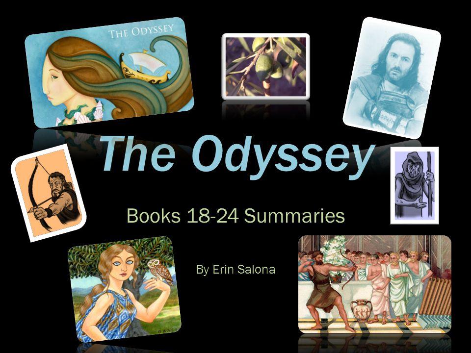 Books 18-24 Summaries By Erin Salona