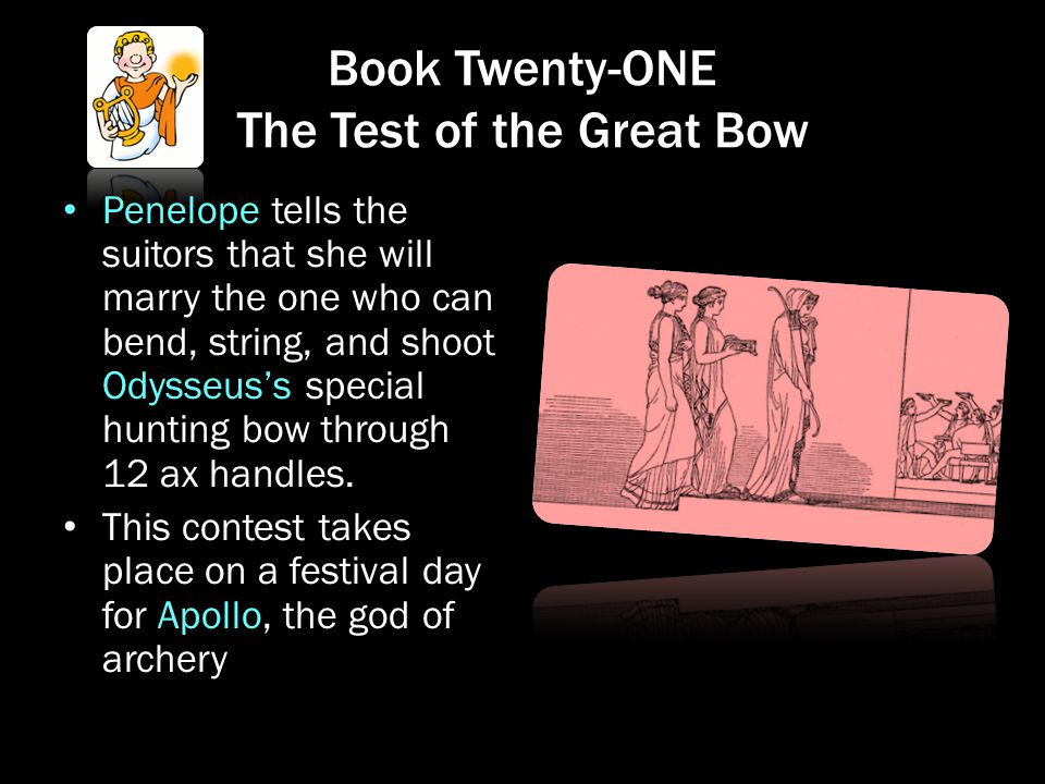 Book Twenty-ONE The Test of the Great Bow