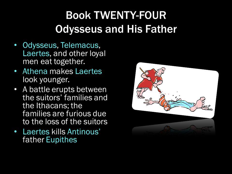 Book TWENTY-FOUR Odysseus and His Father