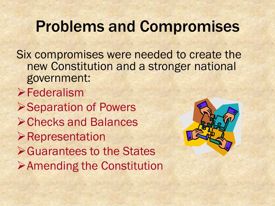 Problems and Compromises