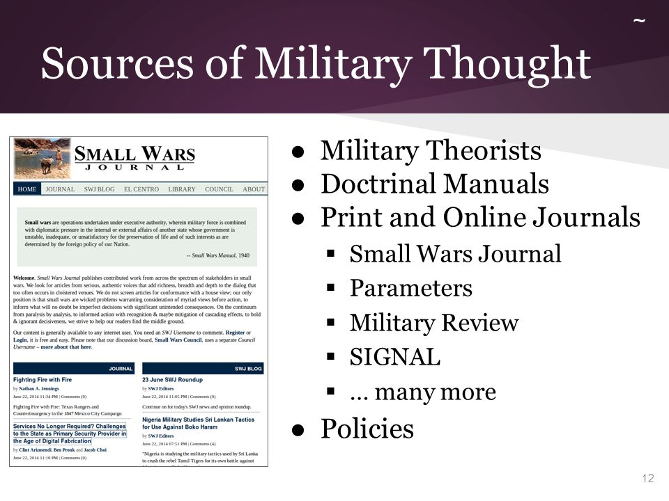 Foundations of Military Doctrine