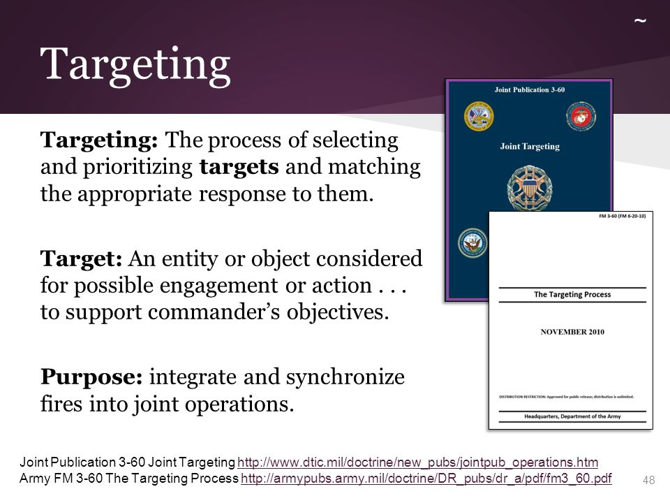 Targeting ~ Targeting Methodology