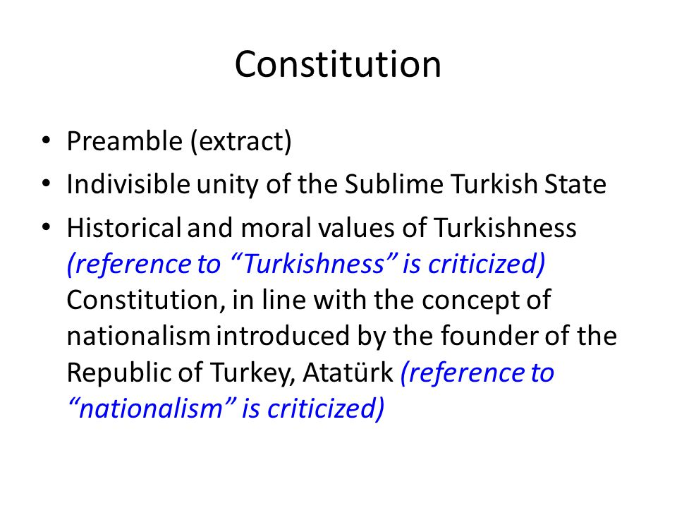 Constitution Preamble (extract)