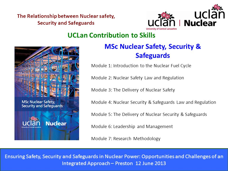 UCLan Contribution to Skills