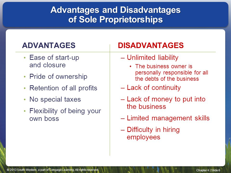 advantages and disadvantages of starting your own business rather Business advantages and disadvantages of  4 oct 2010 rather than carrying  be quick way to set your own business without starting.