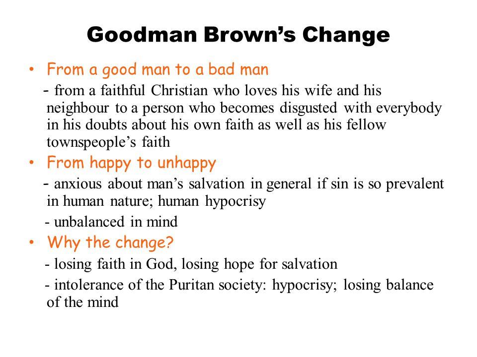 Goodman Brown's Change