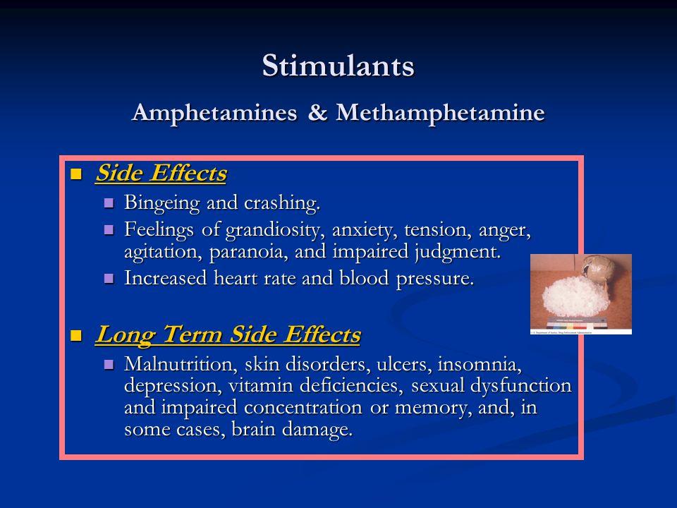 Stimulants Amphetamines & Methamphetamine