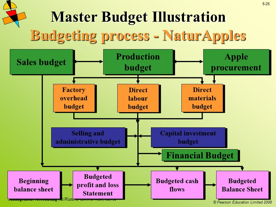 Master Budget Illustration Budgeting process - NaturApples