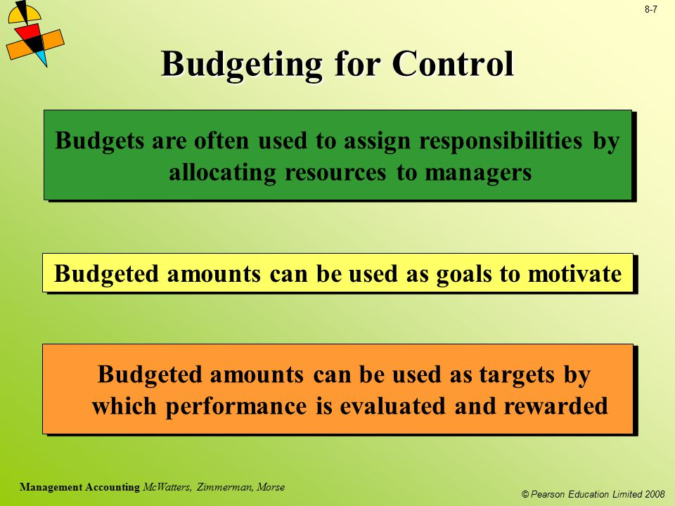 Budgeted amounts can be used as goals to motivate