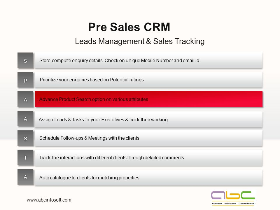 Leads Management & Sales Tracking