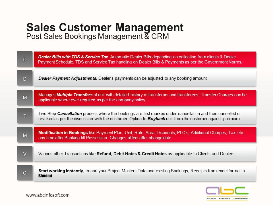 Sales Customer Management