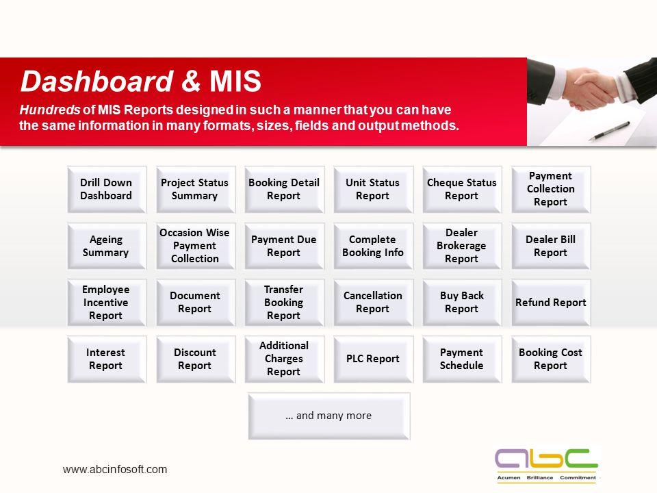 Dashboard & MIS