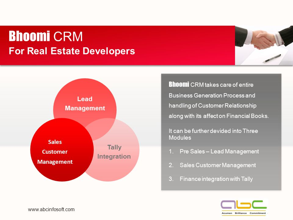 Bhoomi CRM For Real Estate Developers