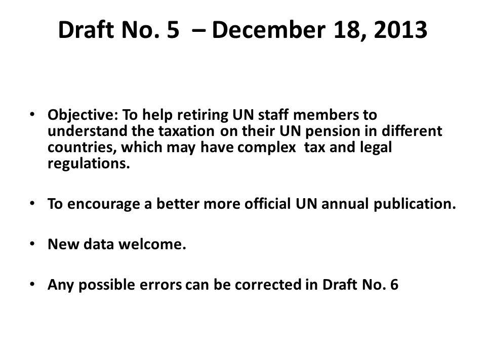 Draft No. 5 – December 18, 2013