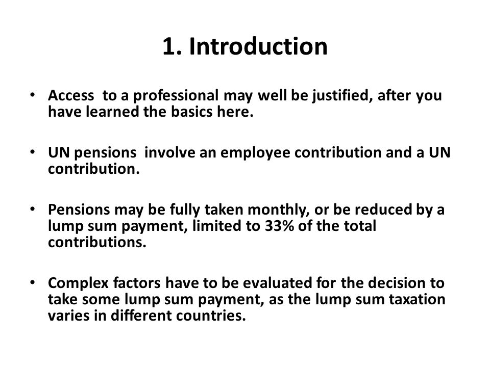 1. Introduction Access to a professional may well be justified, after you have learned the basics here.
