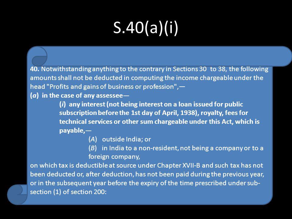 S.40(a)(i)