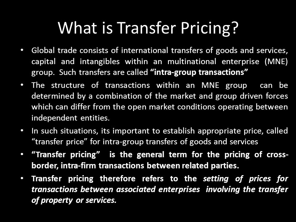 What is Transfer Pricing
