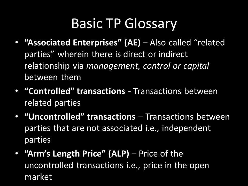 Basic TP Glossary