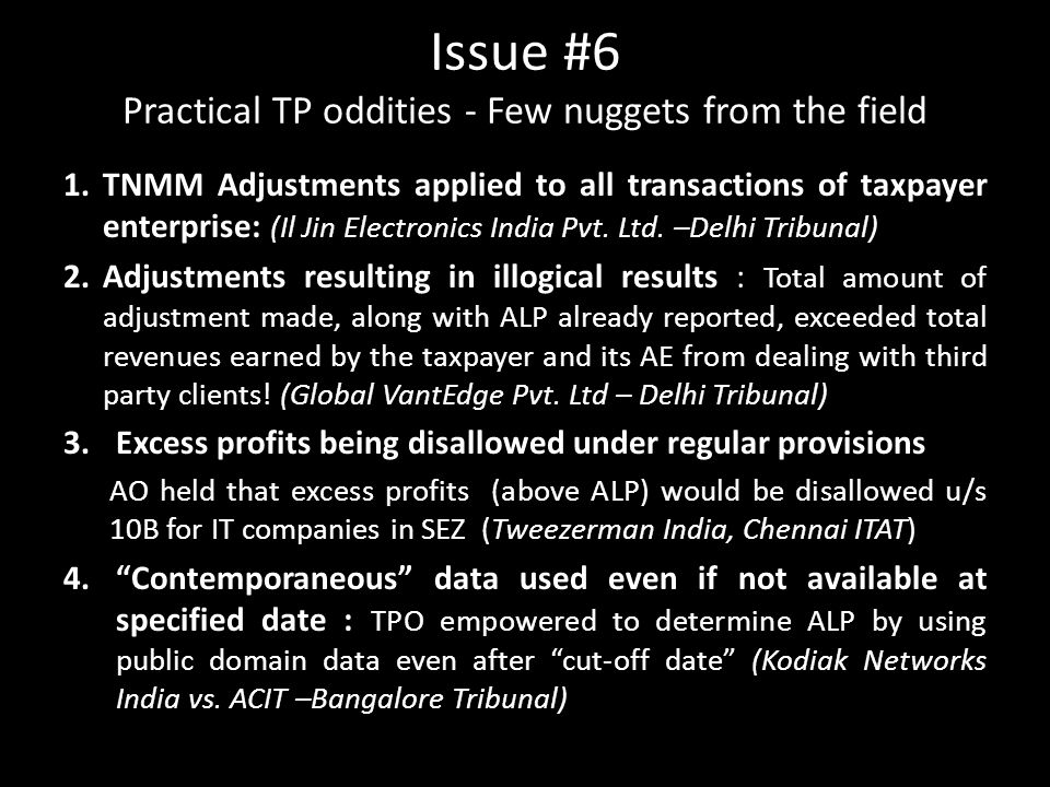 Issue #6 Practical TP oddities - Few nuggets from the field