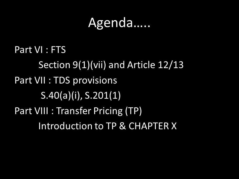 Agenda…..