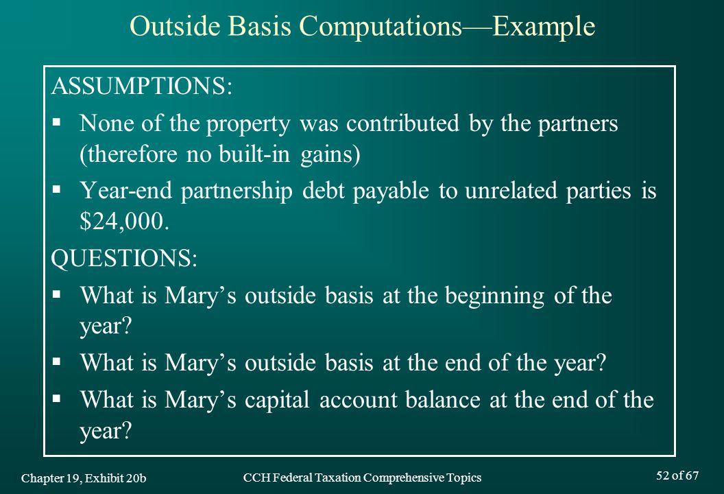 Outside Basis Computations—Example