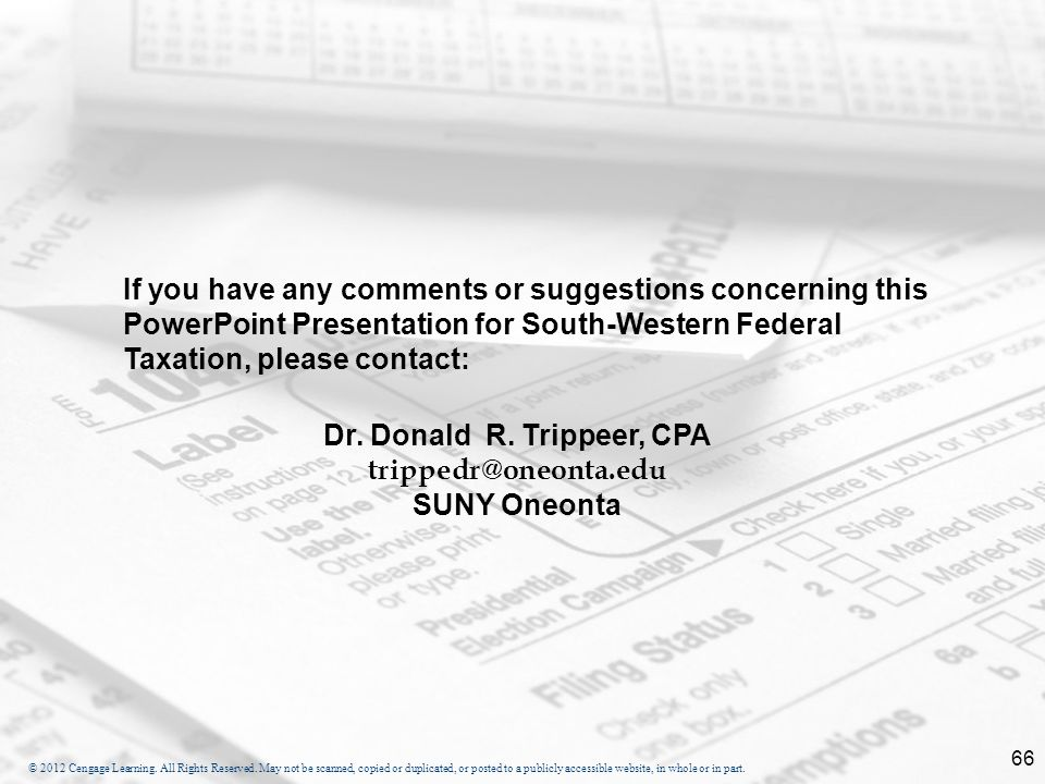 Dr. Donald R. Trippeer, CPA