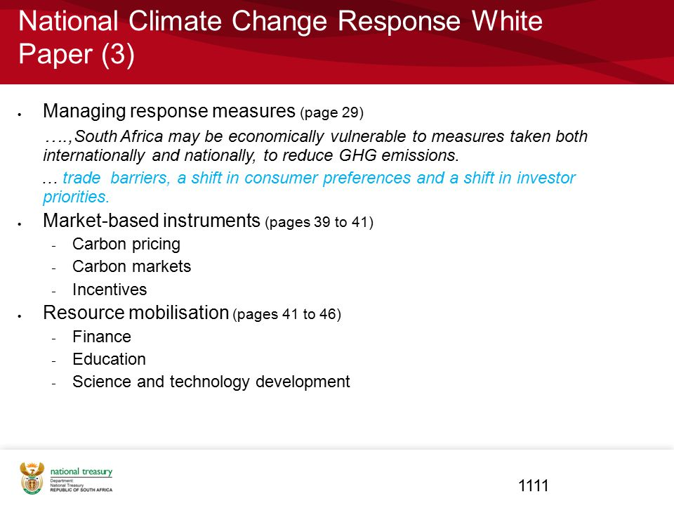 National Climate Change Response White Paper (3)