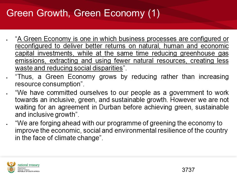 Green Growth, Green Economy (1)