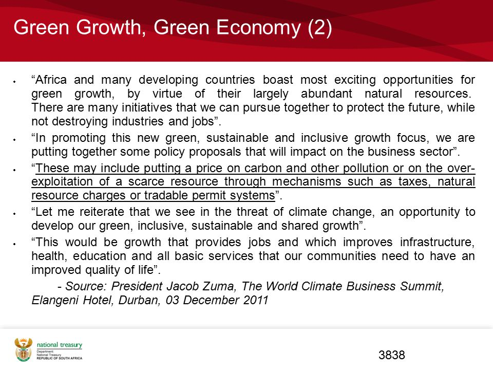 Green Growth, Green Economy (2)