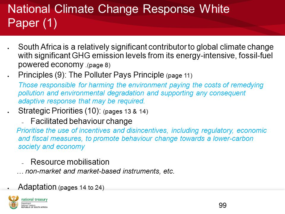National Climate Change Response White Paper (1)