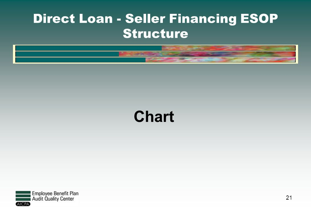 Direct Loan - Seller Financing ESOP Structure
