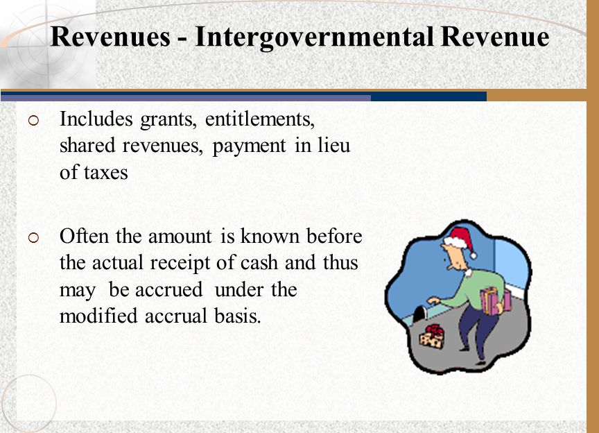 Revenues - Intergovernmental Revenue