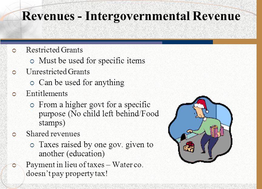 Revenues - Intergovernmental Revenue