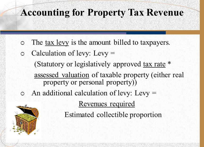 Accounting for Property Tax Revenue