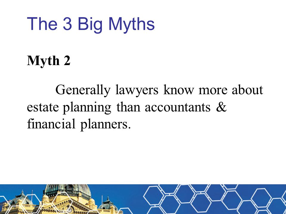 Michael Fitzpatrick The 3 Big Myths. Myth 2.